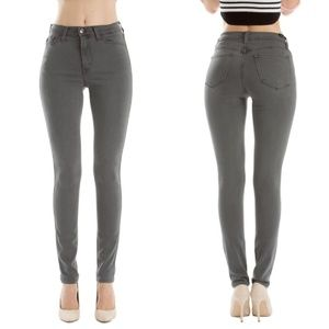 NWT KanCan Jeans Grey Skinny Stephone-Belle